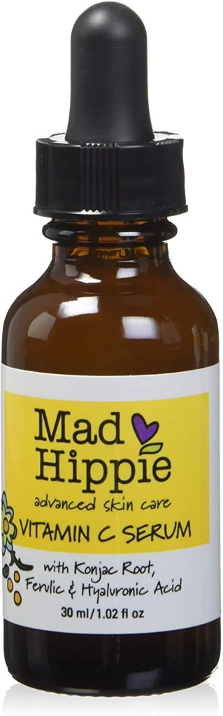 Affordable vitamin C serum that brightens up and tones skin.
