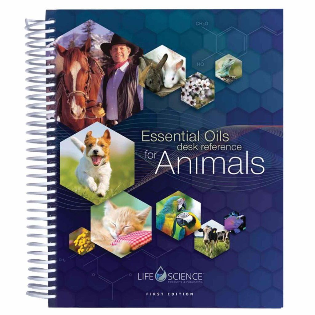 Learn  to spot signs of essential oil toxicity in dogs with books such as this one.