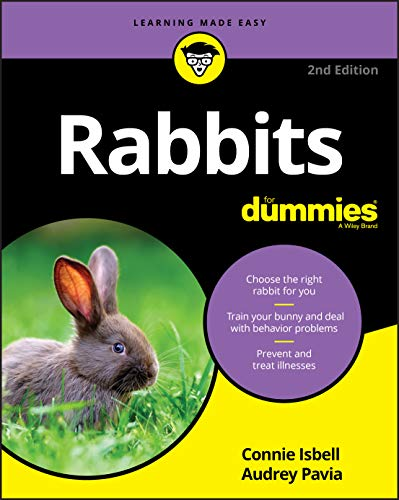 This rabbits for dummies book is a perfect guide for learning more about houseplants rabbits can eat.