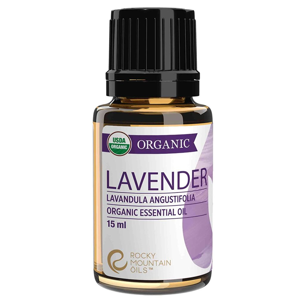 Lavender essential oil treats dry skin the best.
