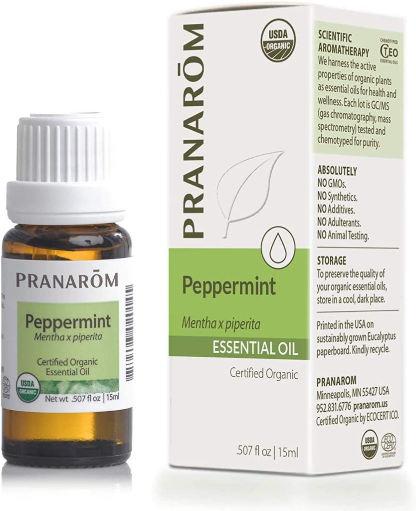 Best peppermint essential oil that works like minoxidil to treat hair loss.