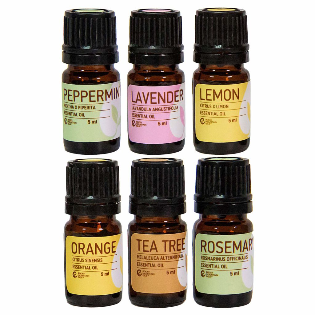 The best essential oil set to use in a aromatherapy stone diffuser.