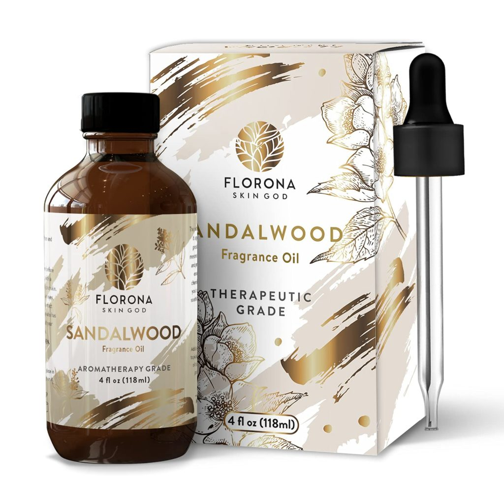 Sandalwood essential oil is perfect for dry skin