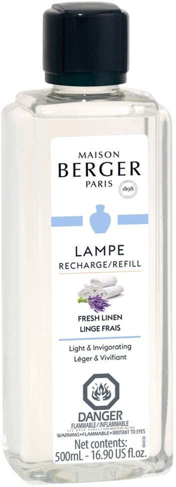 Maison Berger oil diffuser fragrance smells like clean laundry and fresh linen.