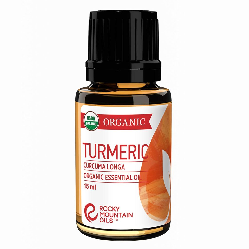 Turmeric essential oil work similarly to steroid-based medication.